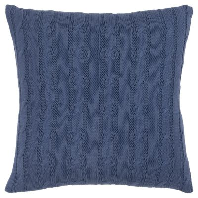 """18"""" x 18"""" Cable Knit Pillow Cover"""