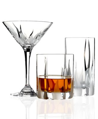 Mikasa Flame Damore Bar and Stemware