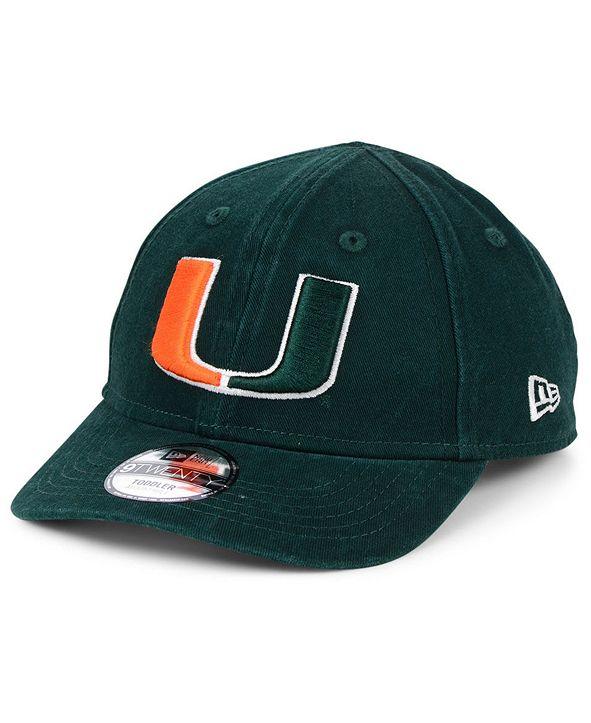New Era Toddlers' Miami Hurricanes Junior 9TWENTY Cap