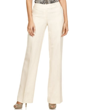 Calvin Klein Pants, Linen Blend Suit Trousers