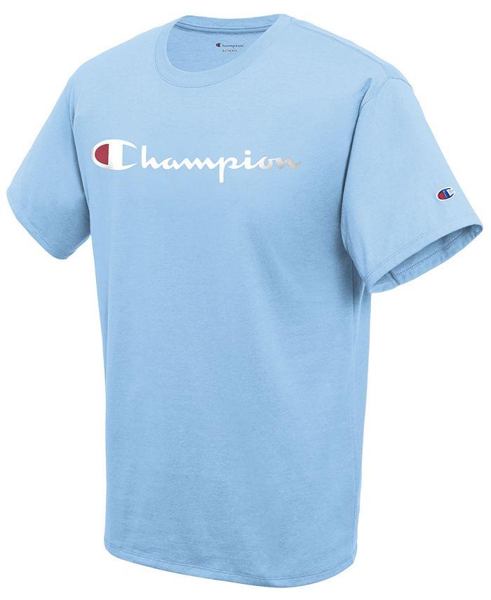 Champion - Men's Script Logo T-Shirt