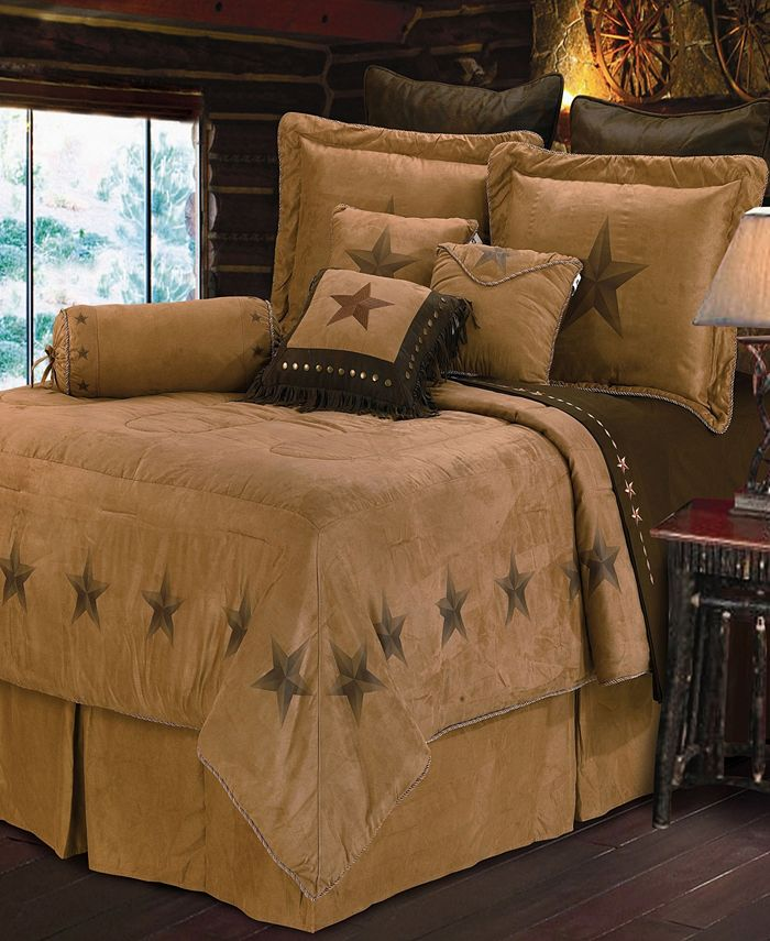 HiEnd Accents - Luxury Star Comforter Set Collection