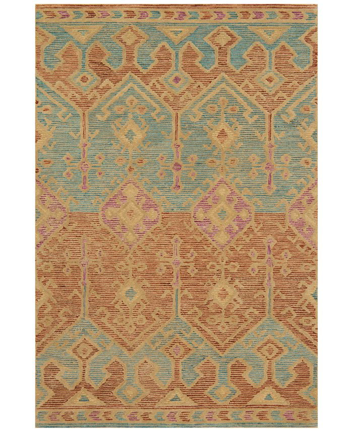 "Justina Blakeney - Gemology GQ-02 5' x 7'6"" Area Rug"