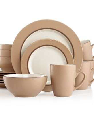 Thomson Pottery Kensington Latte 16-Pc. Set, Service for 4