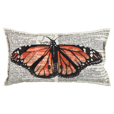 "Mariah Parris 14"" x 26"" Animal Print Down Filled Pillow"