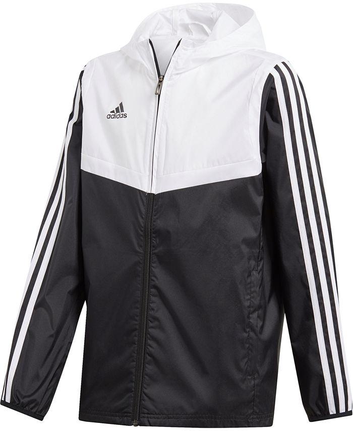 adidas - Big Boys Original Tiro Hooded Windbreaker Jacket