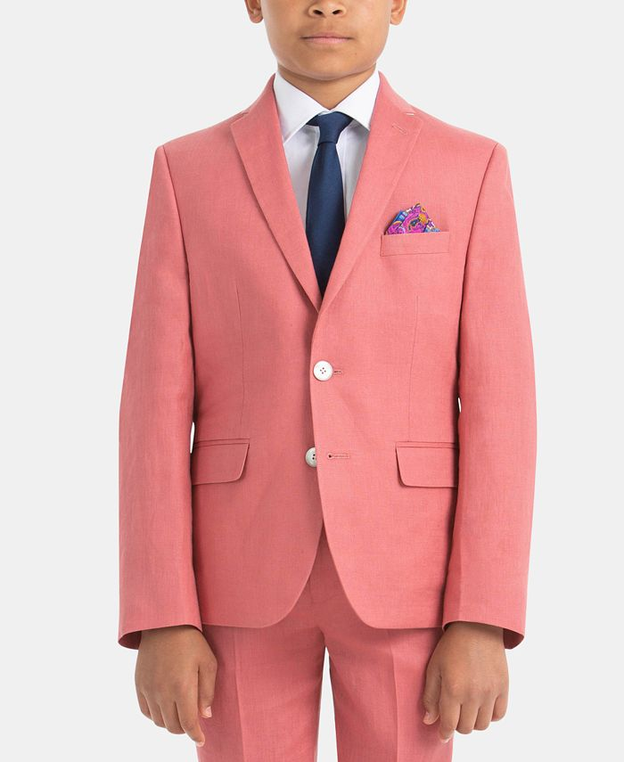 Lauren Ralph Lauren - Little Boys Linen Suit Jacket