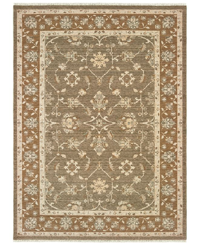 "Oriental Weavers Anatolia 561W3 Grey/Gold 5'3"" x 7'6"" Area Rug"