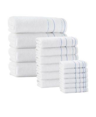16-Pc. Monroe Turkish Cotton Towel Set