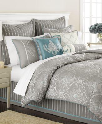 Martha Stewart Collection Bedding, Briercrest 9 Piece Queen Comforter Set