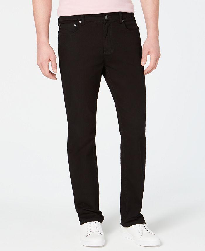 Alfani - Men's Simon Twill Pants