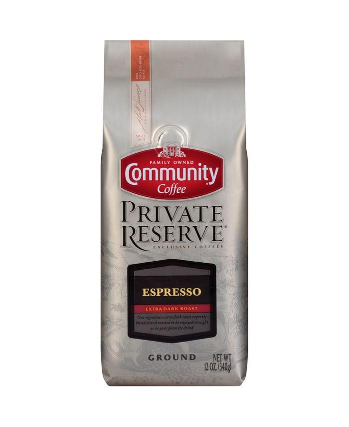Community Coffee - CS-6: 12 OZ GRD ESPRESSO