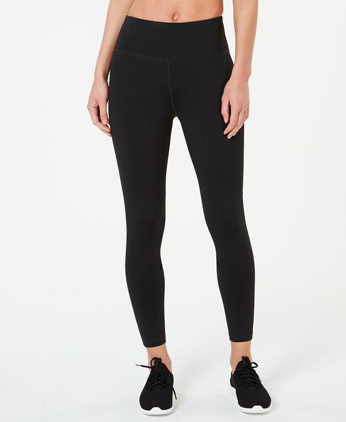 Calvin Klein - Mesh-Inset Ankle Leggings