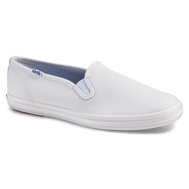 Keds Women's Champion Slip On Leather Sneakers