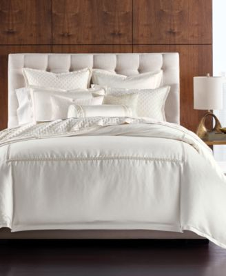 CLOSEOUT! Luxe Border Full/Queen Duvet Cover, Created for Macy's