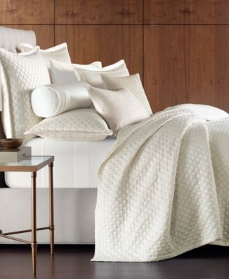 CLOSEOUT! Luxe Border 170-Thread Count Quilted Full/Queen Coverlet, Created for Macy's