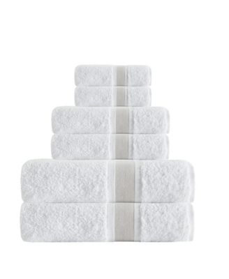 Unique 6-Pc. Turkish Cotton Towel Set