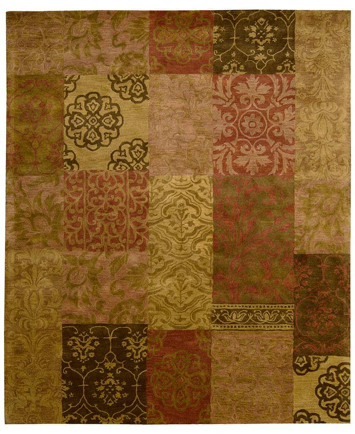 "Nourison - Area Rug, Rajah Collection JA42 Nadhir Multi 3'9"" x 5'9"""