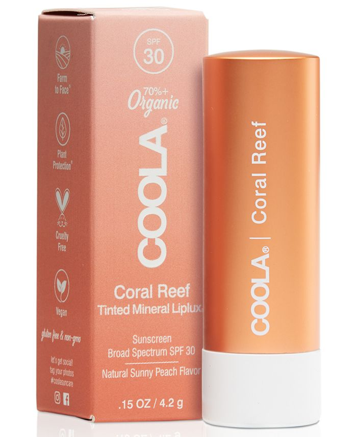 COOLA - Coola Coral Reef Mineral Liplux SPF 30, 0.15-oz.