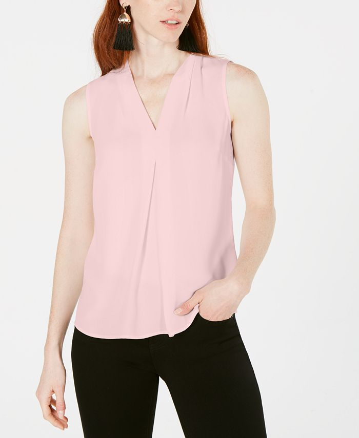 Bar III - Inverted-Pleat Top