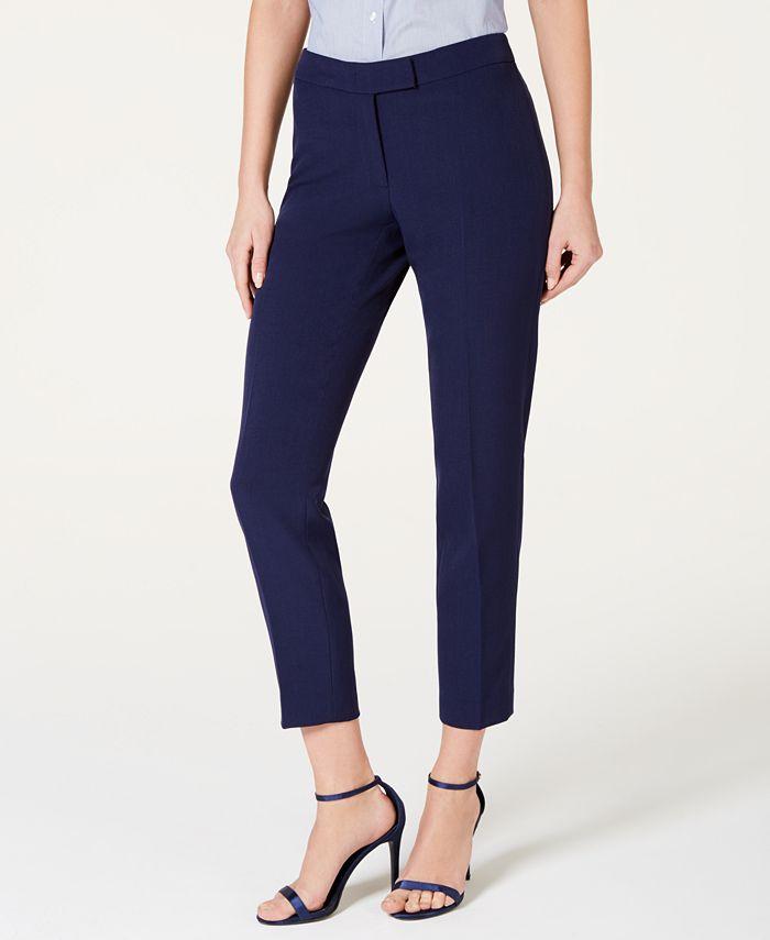 Anne Klein - Cropped Career Pants