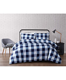 Truly Soft Everyday Buffalo Plaid Full/Queen Duvet Set