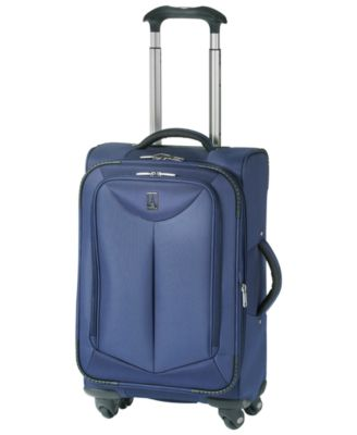 """CLOSEOUT! Travelpro WalkAbout 21"""" Carry On Expandable Spinner Suitcase"""