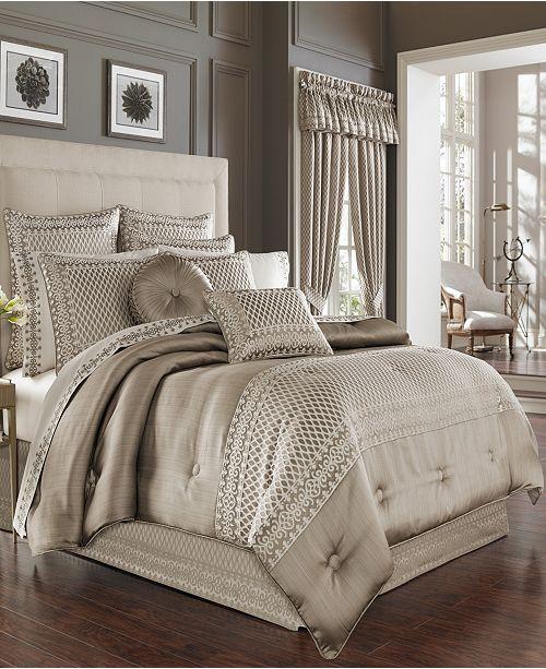 J Queen New York Five Queen Court Beaumont King Comforter Set
