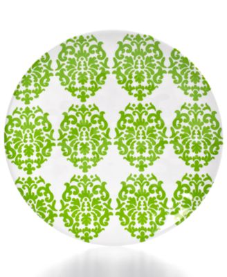 QSquared Victorian Melamine Salad Plate