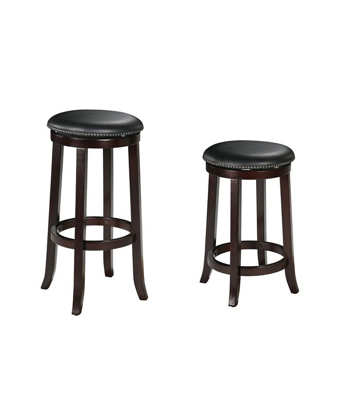 Acme Furniture Chelsea Counter Height Stool with Swivel (Set of 2)