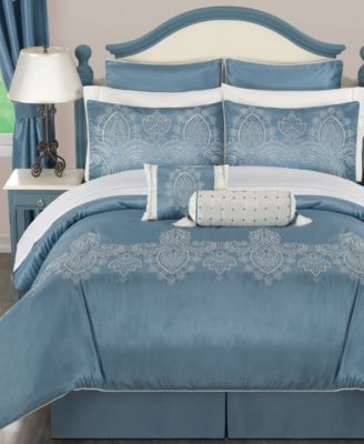 Ellington 24 Piece Comforter Sets - Bed in a Bag - Bed & Bath - Macy's