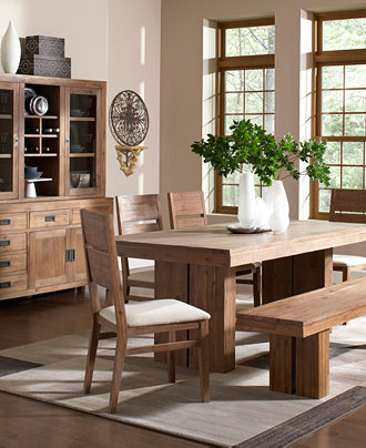 Champagne dining room furniture collection furniture for Dining room tables macys