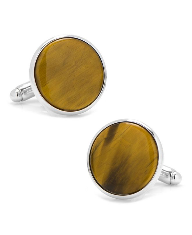 Cufflinks Inc. Tiger's Eye Cufflinks