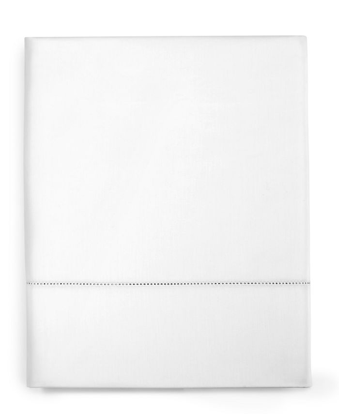 Charter Club - Damask Solid Cotton 550-Thread Count Queen Flat Sheet