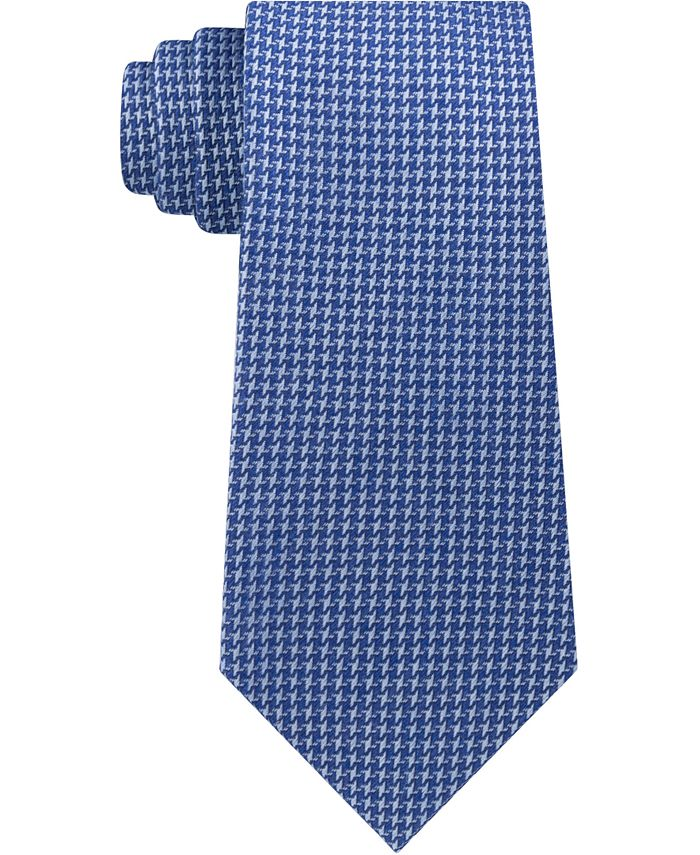 Calvin Klein - Men's Slim Houndstooth Tie