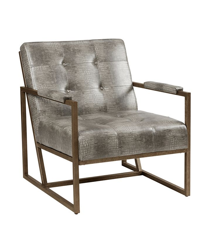 Furniture - Waldorf Tufted Lounge Chair, Quick Ship