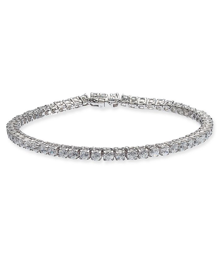 Macy's - Diamond Tennis Bracelet (6 ct. t.w.) in 14k White Gold