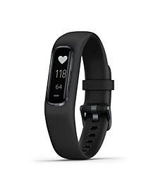 Garmin Unisex vívosmart 4 Activity Tracker Black Bracelet Watch 6x17mm