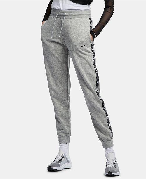 Nike Women's Sportswear Logo Joggers & Reviews - Women - Macy's