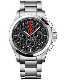 Longines Men's Swiss Chronograph Conquest V.H.P. Stainless Steel Bracelet Watch 44mm