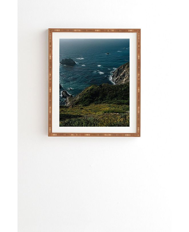 Deny Designs Big Sur California V Framed Wall Art