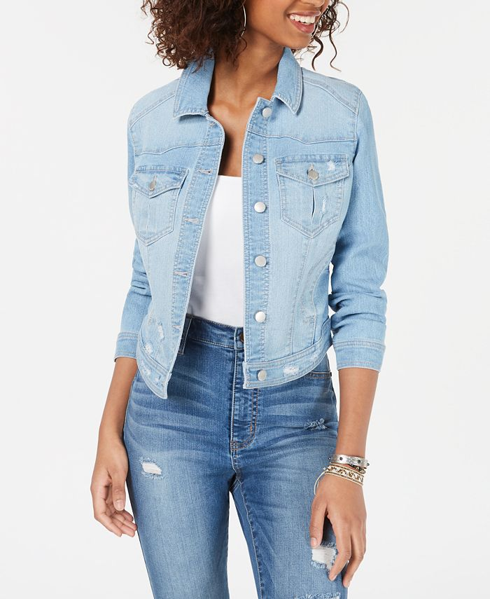 Tinseltown - Juniors'  Jean Jacket