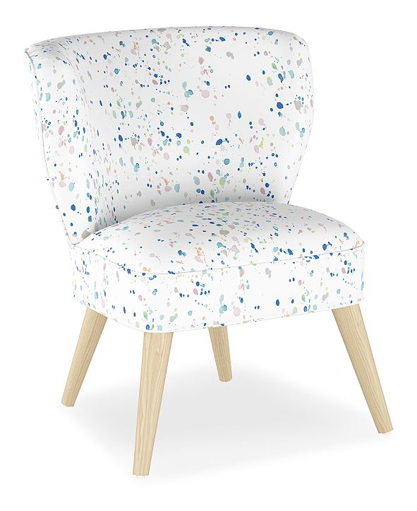 Martha Stewart Collection Whim Collection Shane Curved Armless Chair