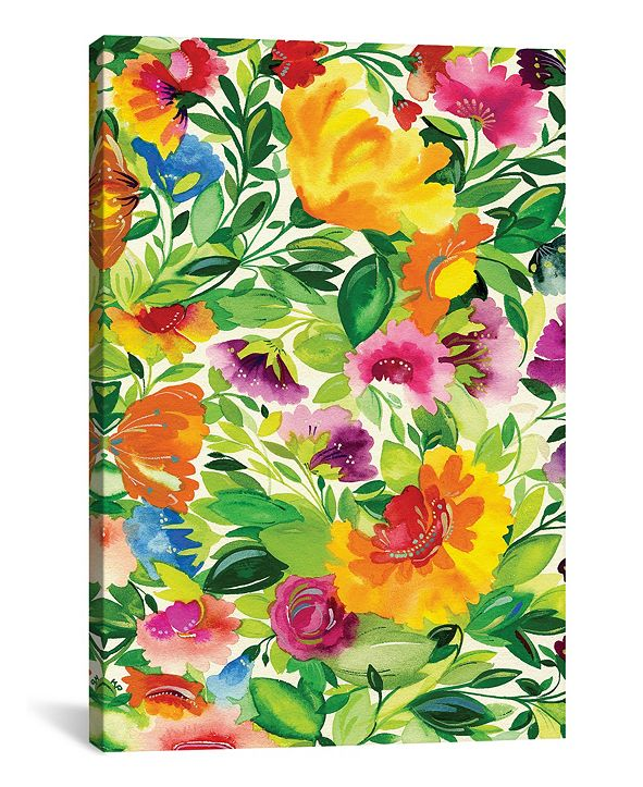 "iCanvas ""July Bouquet"" By Kim Parker Gallery-Wrapped Canvas Print - 40"" x 26"" x 0.75"""