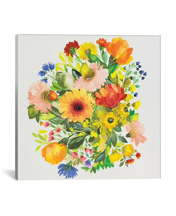 "iCanvas ""September Garden Bouquet"" By Kim Parker Gallery-Wrapped Canvas Print - 37"" x 37"" x 0.75"""