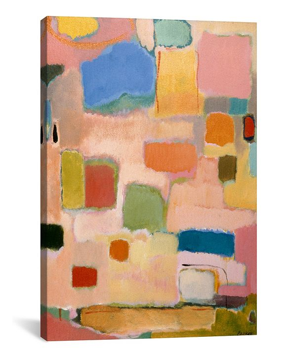 "iCanvas ""Color Essay With Pink"" By Kim Parker Gallery-Wrapped Canvas Print - 26"" x 18"" x 0.75"""