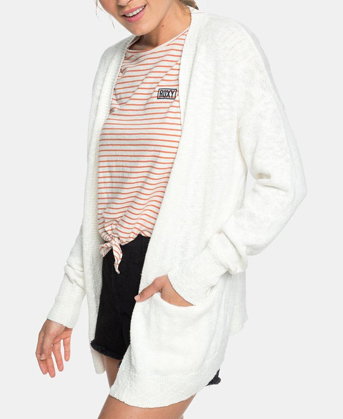 Roxy - Juniors' Valley Shades Open-Front Cardigan