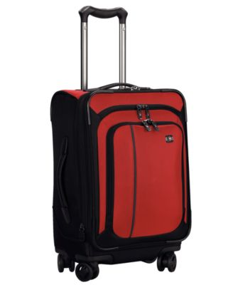 """CLOSEOUT! Victorinox Werks Traveler 4.0 20"""" Carry On Dual Caster Spinner Suitcase"""