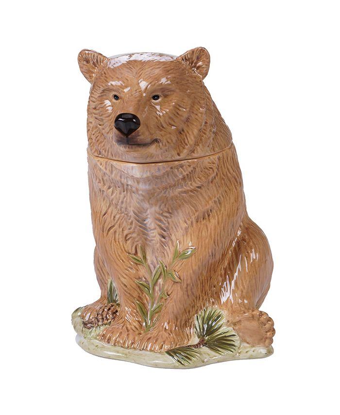 Tracy Porter - Mountain Retreat 3-D Bear Cookie Jar