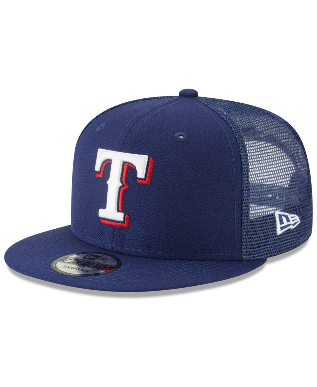 New Era Texas Rangers All Day Mesh Back 9FIFTY Cap & Reviews - Sports Fan Shop By Lids - Men - Macy's